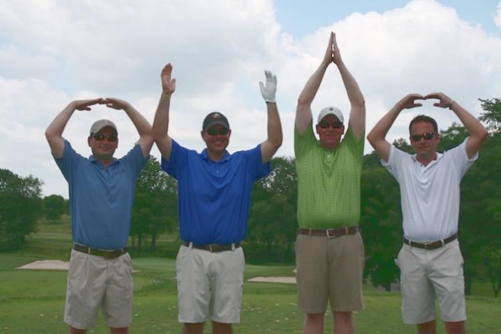 O-H-I-O say the golfers