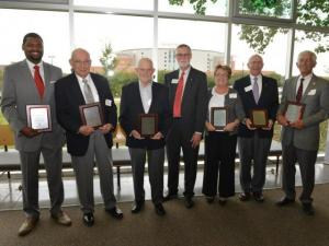 2015 Hall of Distinction Inductees Group Photo