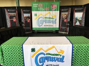 CFAES table at the Ohio State Fair