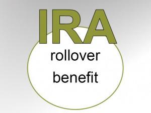 IRA rollover benefit