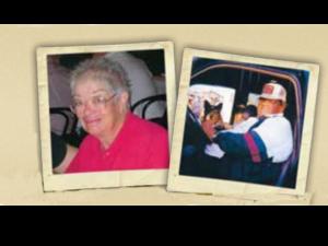 Geraldine Winfough, left, and Arthur Winfough Jr.
