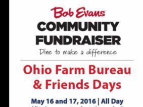 May 16-17 are Ohio Farm Bureau & Friends Days