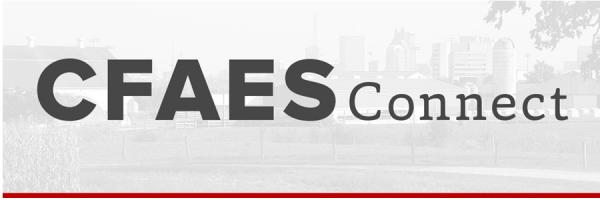 CFAES Connect Banner