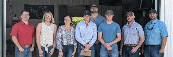 CFAES Livestock Judging Team