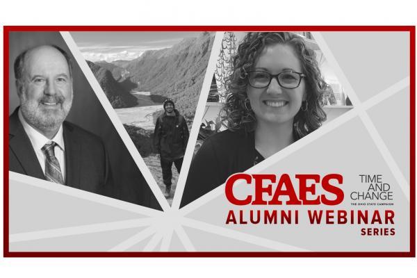 CFAES Alumni Webinar Graphic