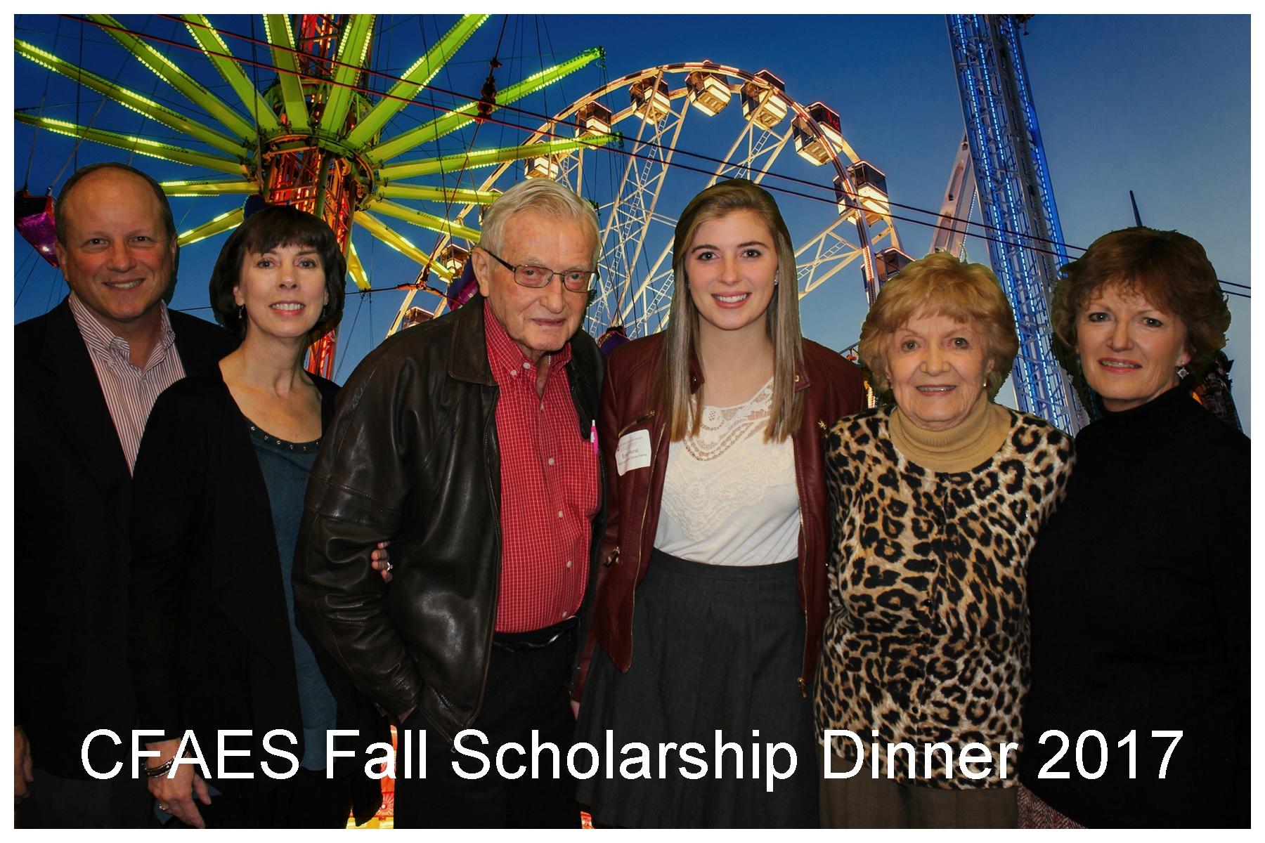 2017 CFAES Fall Scholarship Dinner