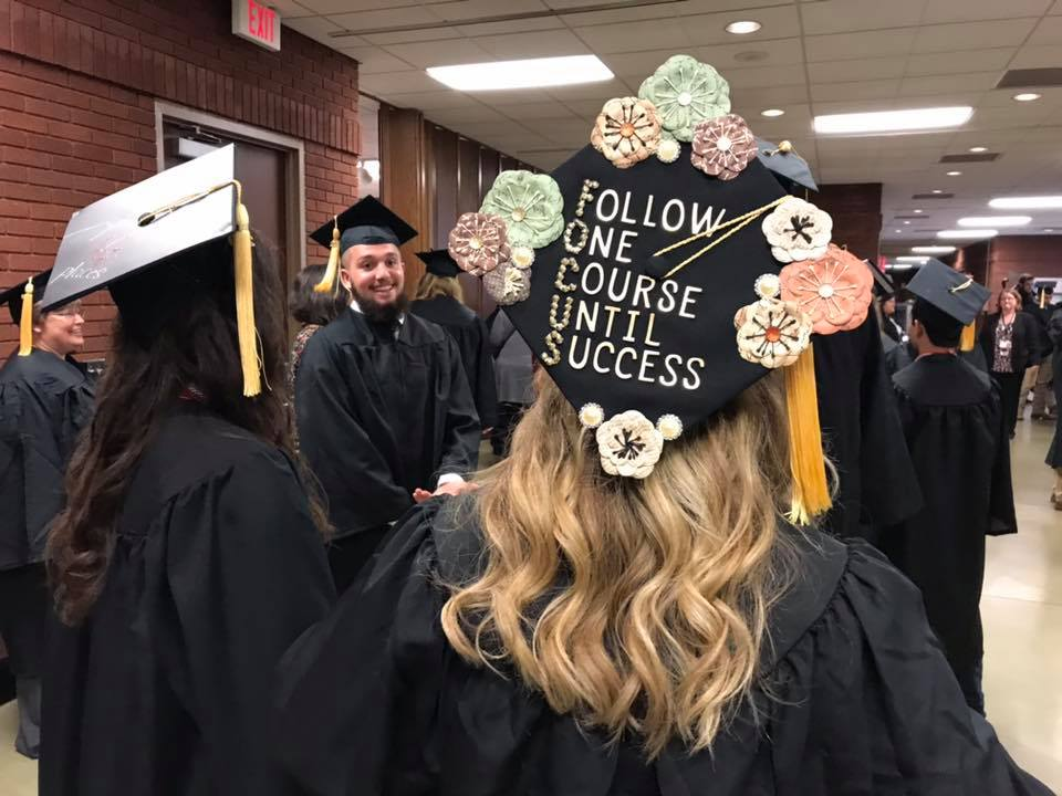 Inspirational Graduation Cap