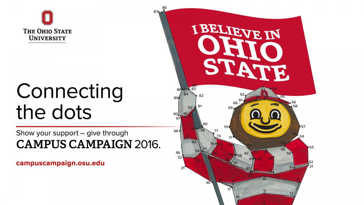 Connecting the dots is this year's theme for Campus Campaign