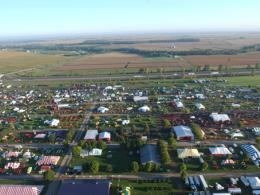 Farm Science Review aerial photo