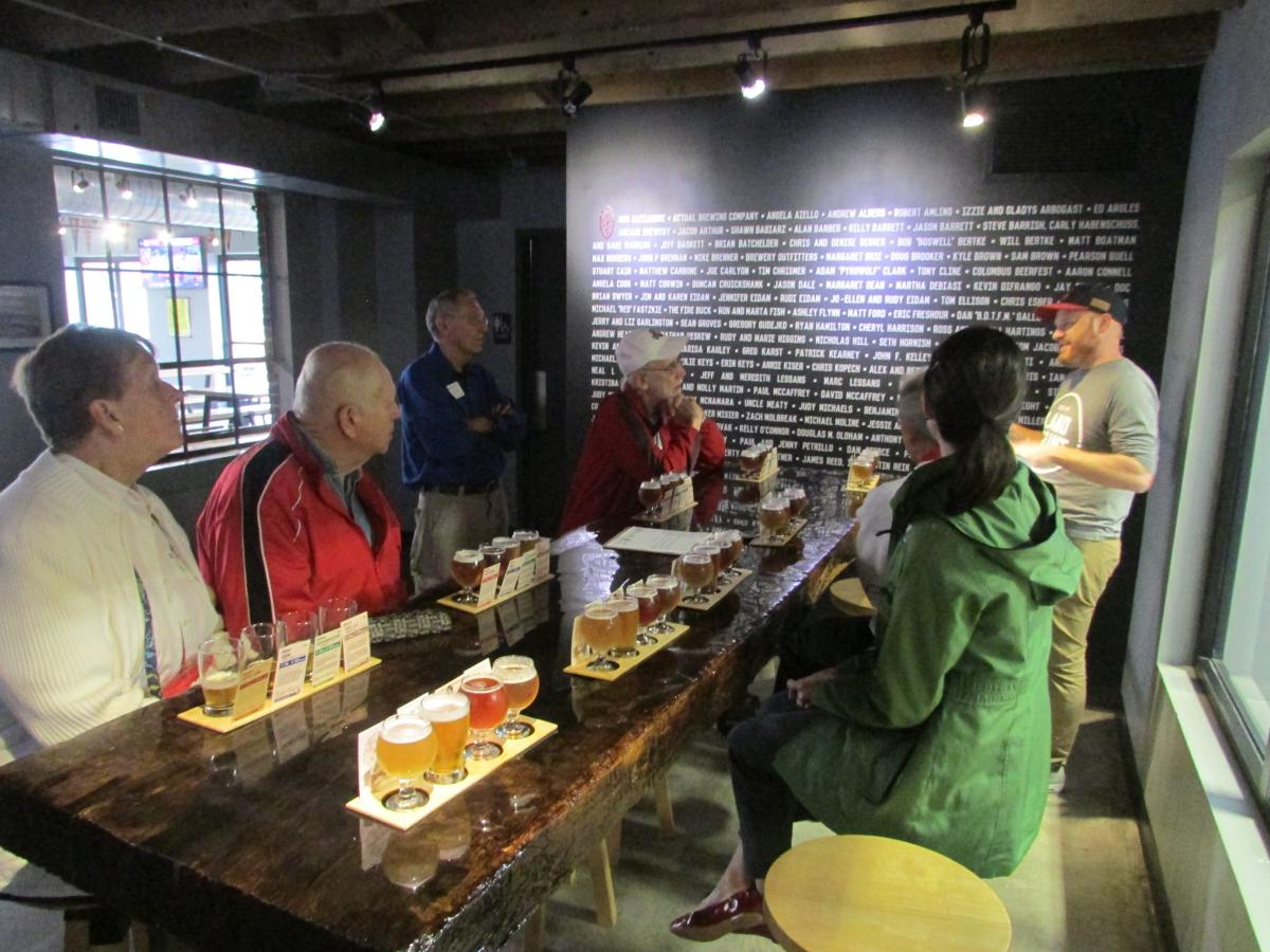 Land-Grant Brewery Tour