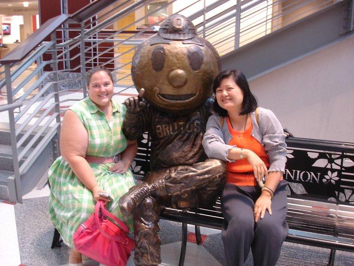 Kelly Newlon & Dr. Cheryl Ruey-Fen Bain