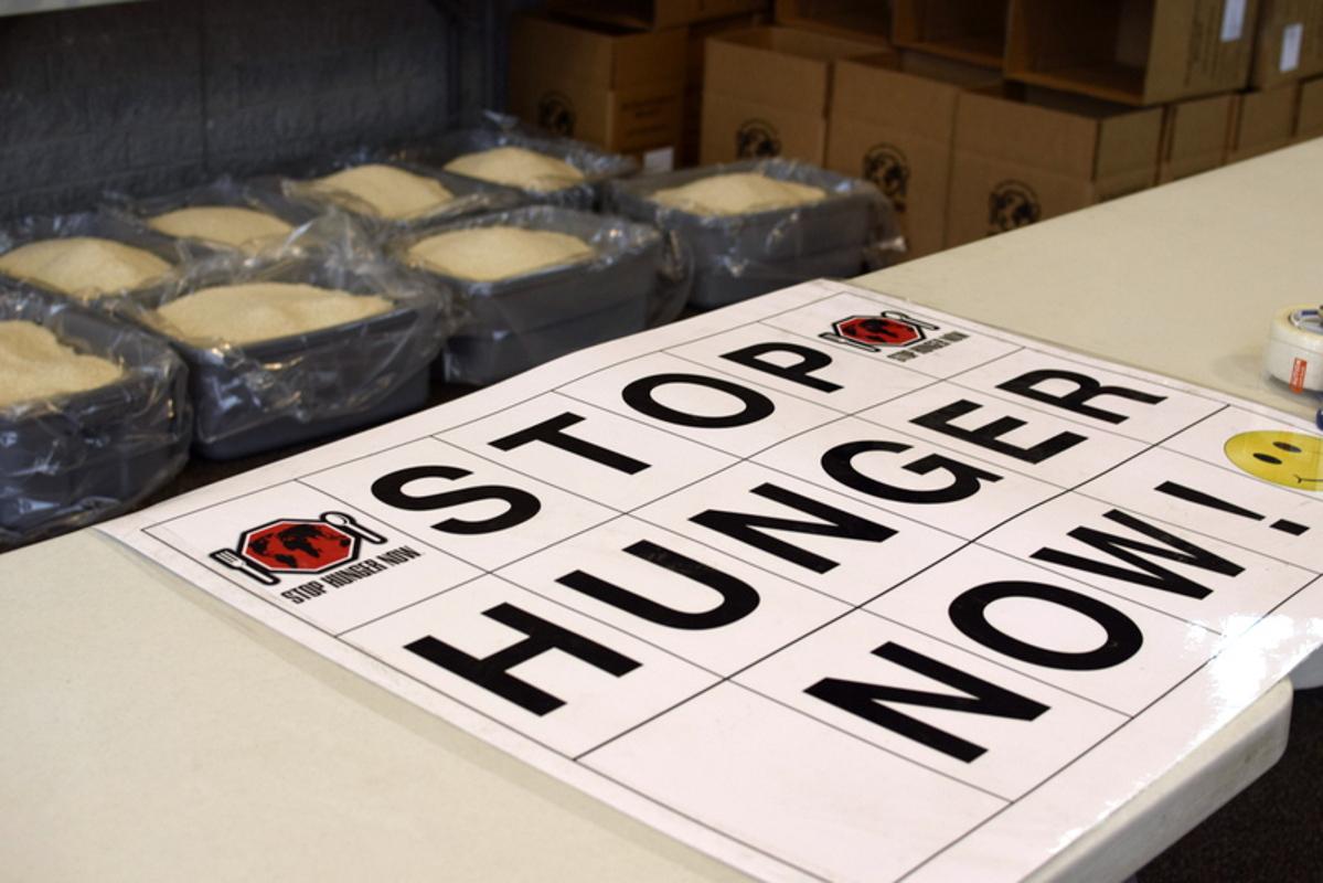Stop Hunger Now logo