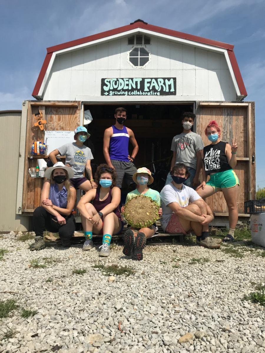 Student Farm members