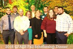 2018 Fall Scholarship Dinner