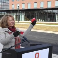 Wooster Science Building Ribbon Cutting