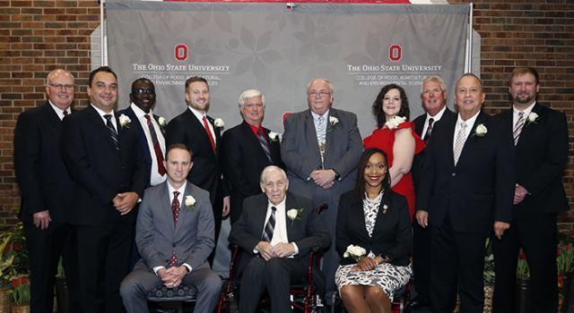 The 2019 CFAES Alumni Award recipients