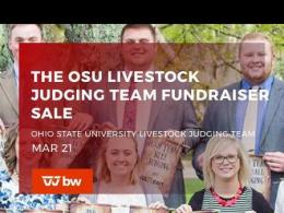 Livestock Judging Team Online Fundraiser - March 21