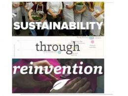 Sustainability through Reinvention conversation on April 16th