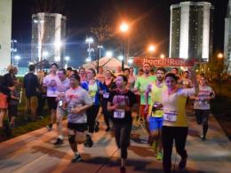 Runners participating in the Buck-I-Run