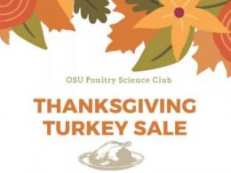 OSU Poultry Science Club Thanksgiving Turkey Sale
