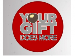 YOUR GIFT DOES MORE