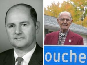 Leon Boucher then and now