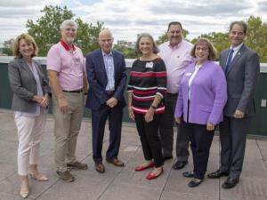 Dean Cathann Kress, Wendell Wiley, John Prusa, Pat Brundige, Todd Kranz, Susan Turner, Dan Wampler. Not pictured: Dale Leppo.