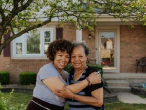 Yolanda Owens and her mom Sheila