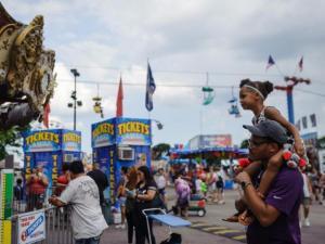 Visit with CFAES at the Ohio State Fair.  Photo credit: Ohio State Fair