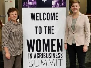 Scholarship winner attends Women in Ag summit