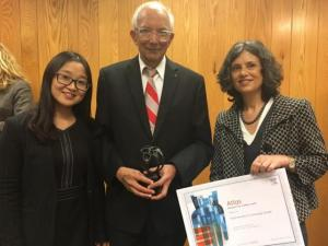 Young Wu, Elsevier; Rattan Lal, Ohio State; Virginia Prada LoPez, Elsevier.