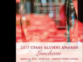 Alumni Awards Lunch 11:30 a.m. March 4 at Fawcett Event Center
