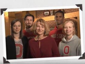 Dean Kress & CFAES students.