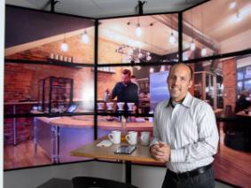 Chris Simons leads the Food Perception and Liking Laboratory.