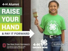 Raise Your Hand for 4-H