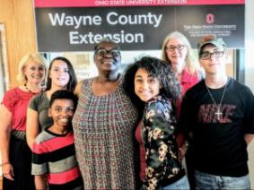 Tredella Floyd made a huge difference for her kids and foster kids with the help of the Wayne County Extension Office.  Photo courtesy of Bobby Warren and the Daily Record.